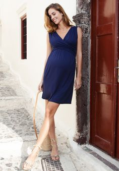Envie de Fraise ADELAIDE Robe longue blue Femme