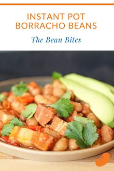 This instant pot borracho beans recipe is a perfect side dish for any Mexican meal. Or, serve them on their own over rice for a cheap and easy meal. Instant Pot | Tasty | Easy | One Pot | Chickpea Recipes, Vegetarian Recipes, Borracho Beans Recipe, Drunken Beans, How To Soak Beans, Best Beans, Best Instant Pot Recipe, Southwest Style, Bean Recipes