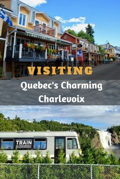 Quebec's Charlevoix is a beautiful holiday spot in Canada with colourful towns, beautiful hikes, wildlife watching and great food. Backpacking Canada, Canada Travel, Canada Trip, Amazing Destinations, Travel Destinations, Travel Tips, Charlevoix Quebec, Canada Holiday, Croatia
