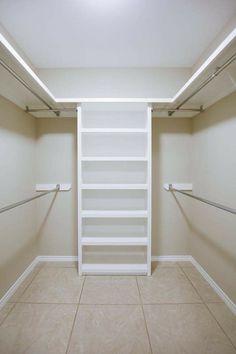 Small Master Closet, Walk In Closet Small, Walk In Closet Design, Master Bedroom Closet, Small Closets, Bathroom Closet, Closet Designs, Bathroom Storage, Master Closet Design