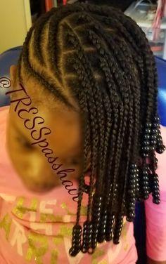 Lemonade braids with individuals. # lemonade Braids with individuals # lemonade Braids for children Cute Little Girl Hairstyles, Black Kids Hairstyles, Little Girl Braids, Baby Girl Hairstyles, Natural Hairstyles For Kids, Kids Braided Hairstyles, Braids For Kids, Girls Braids, Natural Hair Styles