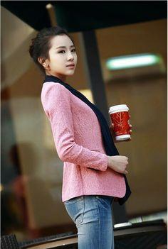 japanese street fashion japanese fashion magazine japan store korean style chinese fashion trendy : spring new Korean small suit Slim define aesthetically pleasing face