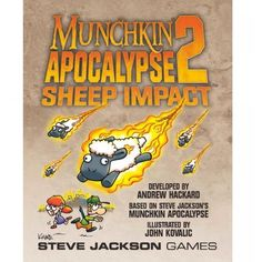 Munchkin Apocalypse 2 Sheep Impact http://ift.tt/2dydn8a   #tradingcards #tradingcard #tradingcardgame card games Trading card trading card games trading card stores pokemon buddy fight cardfight vanguard Disney doctor who football force of will legend of the five rings moshi monsters my little ponies skylanders world of warcraft naruto harry potter yu gi oh lord of the rings