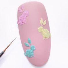 Nail Art, Easter Nails, Manicure, Fun Nails, Animals And Pets, Nail Designs, Creative, How To Make, Nail