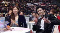 Lee Jong Suk ♥♥^^ 2016.12.30 MBC Drama Awards Han Hyo Joo Lee Jong Suk, Lee Jung Suk, Mbc Drama, W Two Worlds, Kpop, Second World, Lee Min Ho, Best Actor, Korean Drama