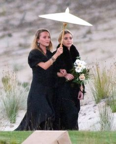 Mary-Kate and Ashley were bridesmaids at their friends' wedding in New Zealand—see the photo here.