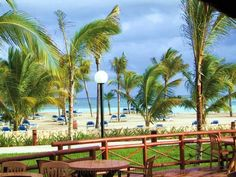 View from Capitan Morgan's Beach Grill - Barcelo Palace