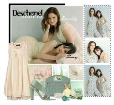 """""""Deschanel sisters"""" by fildarina ❤ liked on Polyvore featuring Forever 21, Annick Goutal, Nordstrom, Fantasy Jewelry Box, Calvin Klein, Zooey, Yuki, Viktor & Rolf, make-up and dresses"""