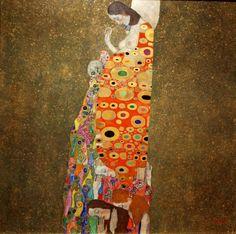 Gustav Klimt Painting Museum Of Modern Art New York Gustav Klimt, Klimt Art, Framed Wall Art, Canvas Wall Art, Wall Art Prints, Hope Art, Paul Gauguin, Museum Of Modern Art, Contemporary Paintings