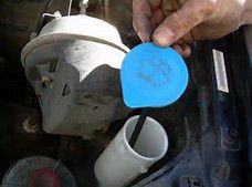 How to change your windshield washer fluid with tips from Gary Jaffarian.
