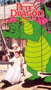 "VHA , DISNEY'S ""PETE'S DRAGON"" (Clamshell) Animation & Live Action, Boy finds dragon! LIKE NEW!"