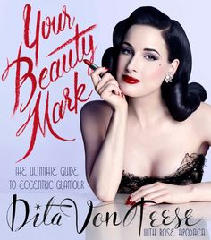 Oh No They Didn't! - Dita Von Teese explains why the only thing she won't take off is red lipstick.