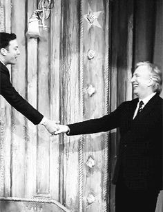 "Alan Rickman - ""Late Night with Jimmy Fallon"" October 9, 2013"