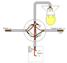 image showing wiring diagram of a loop at the switch circuit rh pinterest com electrical wiring regulations australia electrical wiring regulations australia