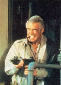 George Peppard as 'Hannibal' Smith ~ The A-Team