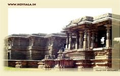Hoysaleswara temple in Halebidu.
