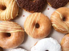 Vanilla glaze doughnut