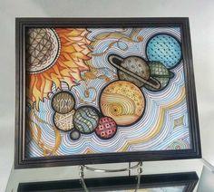 Penmark Patterns | Penmark Patterns Zentangle Solar System by Katie Butler.