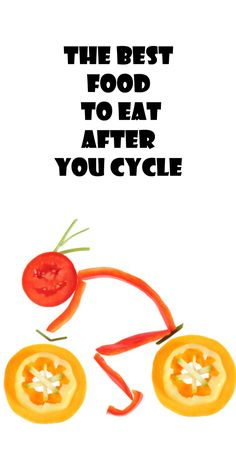 THE BEST FOOD TO EAT AFTER YOU CYCLE: http://thecyclingbug.co.uk