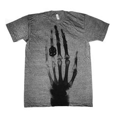 The first x-ray - I want this shirt!