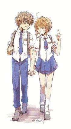 Cardcaptor Sakura, Sakura Card Captor, Sakura Kinomoto, Syaoran, Sakura Manga, Manga Anime, Xxxholic, Sailor Moon Manga, Clear Card