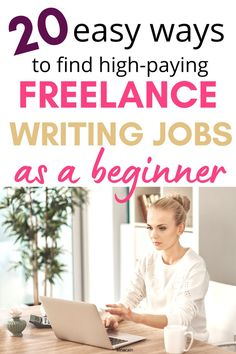 Get some amazing freelance writing jobs as a beginner. Here are 20 ways you can find high-paying freelance writing jobs so you can get paid to write online and work from home for good. #freelance… Online Writing Jobs, Freelance Writing Jobs, Easy Online Jobs, Online Careers, Business Motivational Quotes, Creative Jobs, Write Online, Work From Home Jobs, Writing Tips