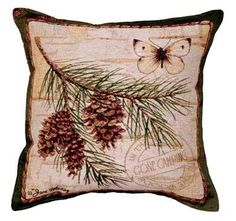 http://www.cabinfeverdecor.com/pinecone-branch-pillow.aspx