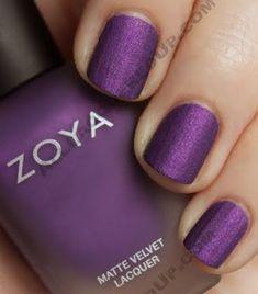 [#Fashion] Velvet nail polish....