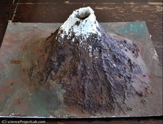Volcano Science Project. TONS of great science project ideas on this site
