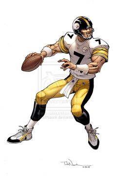 Ben Roethlisberger by ToddNauck on DeviantArt