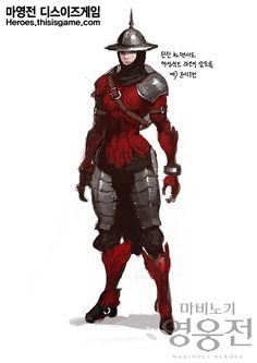 마비노기 영웅전, 고화질 캐릭터 방어구 원화 공개 - 뉴스센터 - 영웅전의 최신 정보는 TIG에서!
