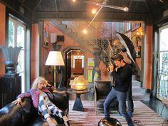 Minnow Cube Batik Pant & Cadmium Zephyr Squares Tank: Kelly Wearstler Pre-Fall 2012 #fashion