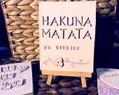 Hakuna Matata - Handmade tile For sale on Etsy $16.00 https://www.etsy.com/listing/215451459/hakuna-matata-handmade-tile?ref=shop_home_feat_2