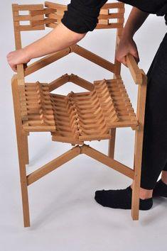 Une chaise pliante en bois : pratique ! #avecdubois