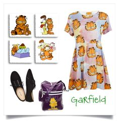 """""""Garfield"""" by ladybgs ❤ liked on Polyvore featuring Lazy Oaf and Wet Seal"""