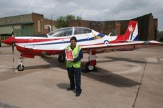The Jubilee Tucano.  http://www.airfix.com/airfix-products/classic-kits/aircraft/a73005-the-queens-diamond-jubilee-shorts-tucano-t1-a73005