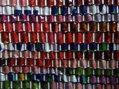 Plasticbagcuttedandwoven By manuel wandl 2017 Art Supplies, Weaving, Loom Weaving, Crocheting, Knitting, Hand Spinning, Soil Texture, Stricken, Loom