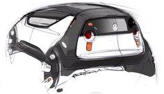 Ford KA Sketch Design