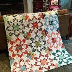 Fireworks quilt pattern - thimbleblossom