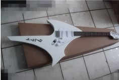 New style Hot sell Alien B.C.Rich iron g 6 strings electric guitar The white model #Affiliate