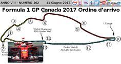 Formula 1 Gp Canada: l'ordine d'arrivo della gara di Montreal
