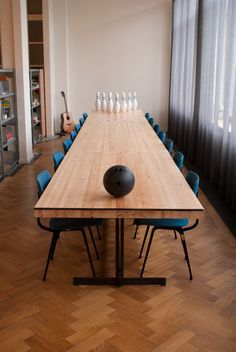 bowling meeting table