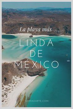 Descubre la playa más espectacular de México #mexico #viajes #turismo Places To Travel, Travel Destinations, Places To Visit, Great Smoky Mountains, Florida Keys, Bryce Canyon, Venice Beach, Mexico Culture, Mexico Resorts