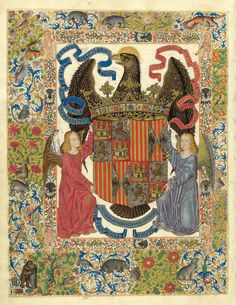 Gaston Phoebus   Ex Libris of King Ferdinand II of Aragon and Queen Isabella of Spain   Livre de la chasse   ca. 1407   The Morgan Library & Museum
