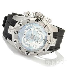 Invicta Men's 6970 Reserve Excursion Mother of Pearl Dial Touring Watch #Invicta #Casual
