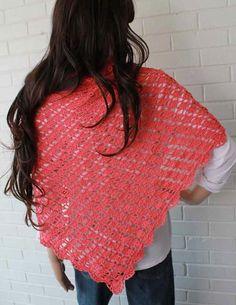 Watch Maggie review this beautiful Flamingo Shawl! Original Flamingo Shawl Crochet Pattern Design: Maggie Weldon Skill Level: Easy Materials:Yarn Needle; Fine Weight Yarn : 14 oz, 1228 yds (400 g, 112