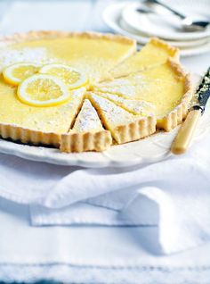 Simple, French, Perfect Tarte au Citron, or Lemon Tart