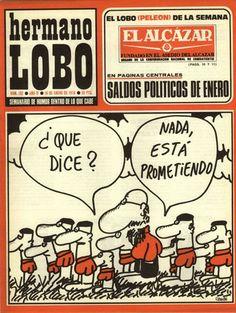 Hermano Lobo - Spanish Magazine - Comic y humor en la España de la transición