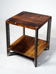 12 Awesome Industrial Furniture projects To Complement Your Industrial Decorating Project Welded Furniture, Fine Furniture, Unique Furniture, Furniture Projects, Custom Furniture, Furniture Decor, Furniture Design, Furniture Stores, Furniture Plans
