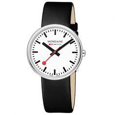 "#Iconic Mondaine - ""Official Swiss Railways Watch"""
